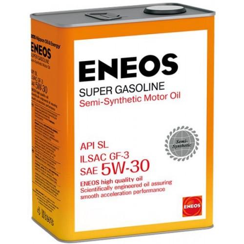 Масло моторное ENEOS 5W30 Super Gasoline  APi SL ILSAC GF-3 (4л)