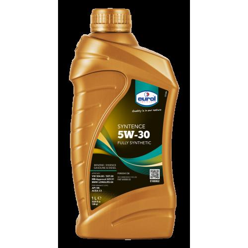 Масло моторное Eurol Syntence 5W30 (VW 504.00/507.00) (1L)