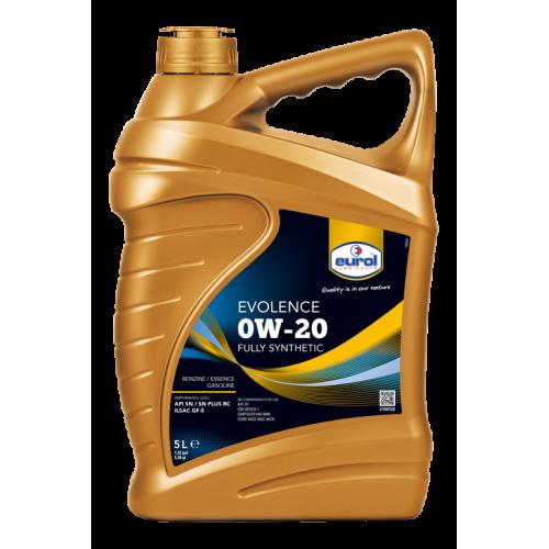 Масло моторное Eurol Evolence 0W20 (5L)