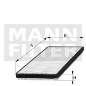 Салонный фильтр MANN-FILTER CU2431