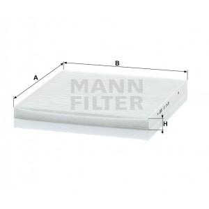 Салонный фильтр MANN-FILTER CU2435