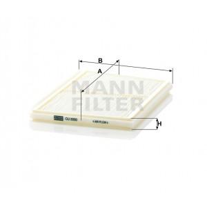 Салонный фильтр MANN-FILTER CU2930