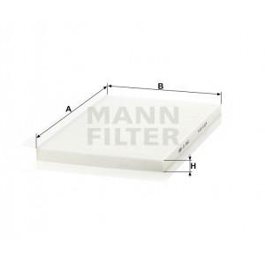 Салонный фильтр MANN-FILTER CU3562