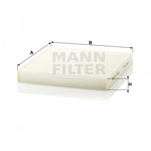 Салонный фильтр MANN-FILTER CU27008