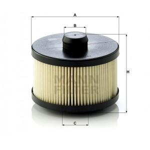 Фильтр топливный безметаллический MANN-FILTER PU10001X