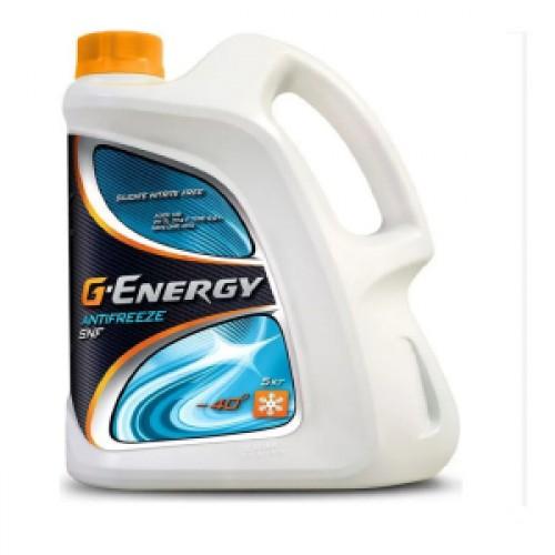 Охлаждающая жидкость G-energy Antifreeze SNF 40 красный (5L)