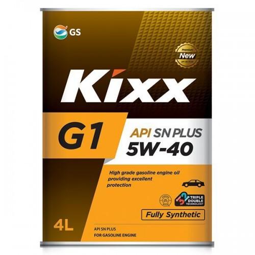 Kixx G1 SN PLUS 5W-40 (4л)