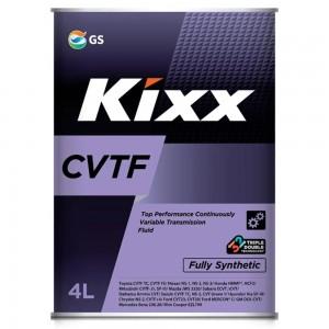 Масло трансмиссионное KIXX CVTF (4л)