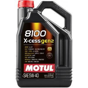 MOTUL 8100 X-cess GEN2 5W40 (4L)