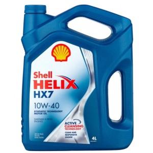 SHELL HELIX DIESEL PLUS HX7 10W-40 4л