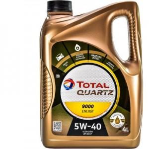 TOTAL Масло моторное QUARTZ 9000  ENERGY 5W-40 (4л) RU