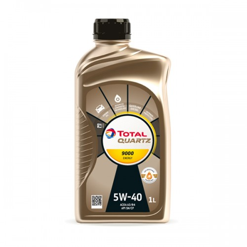 TOTAL Масло моторное QUARTZ 9000 ENERGY 5W-40 (1л)
