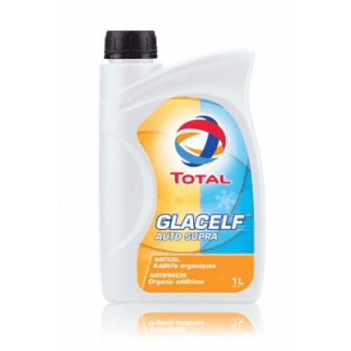 TOTAL Антифриз-концентрат GLACELF AUTO SUPRA G12 оранжевый (1л)