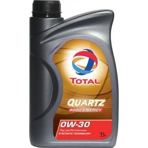 TOTAL Масло моторное QUARTZ 9000 0W-30 (1л)