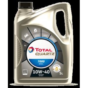 TOTAL Масло моторное QUARTZ DIESEL 7000 SN 10W40 (4л) RU